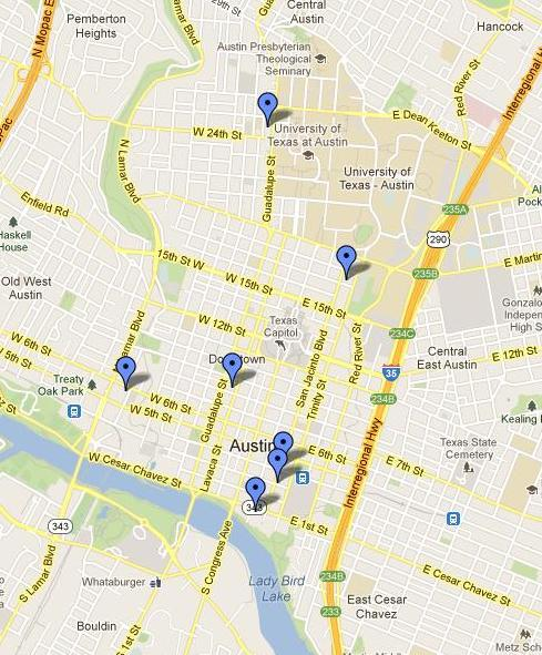 google maps servant girl murder locations
