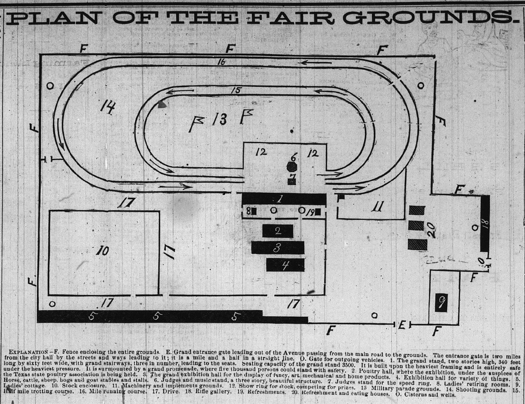 Capital Fair Grounds 1882