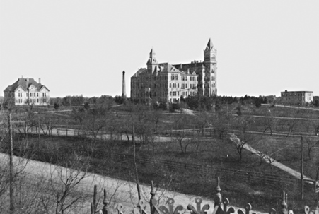 Old Main Building circa 1898