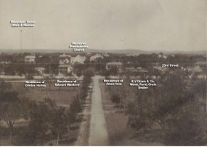 Guadalupe Street Austin 1895
