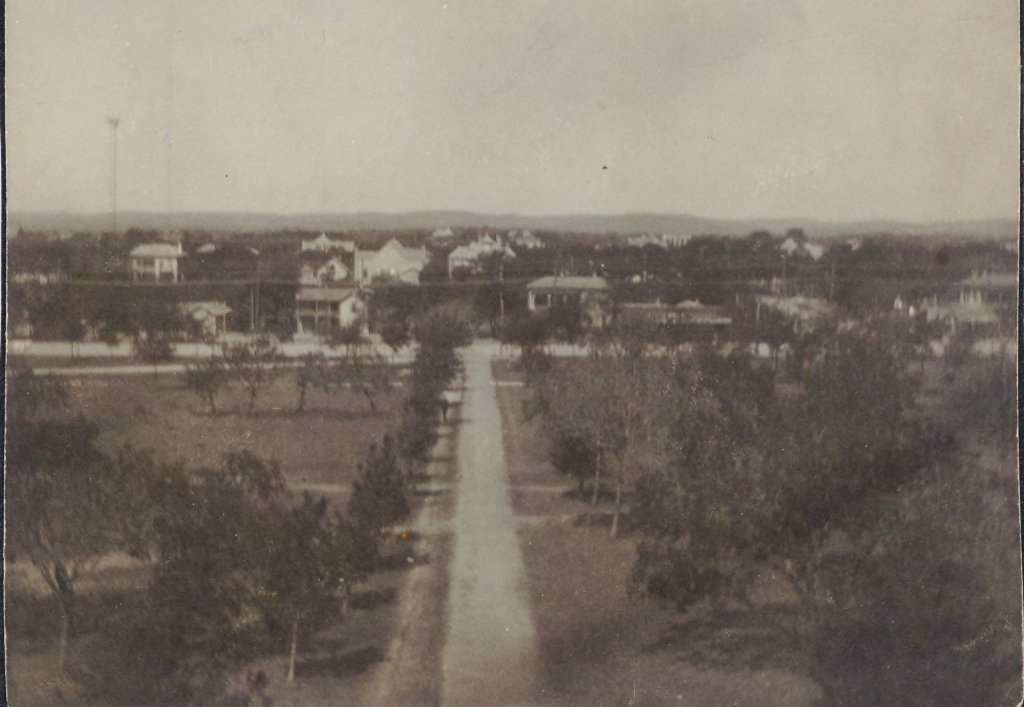 West Walk / Guadalupe Street circa 1900