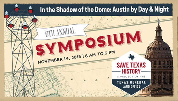 save Texas history symposium